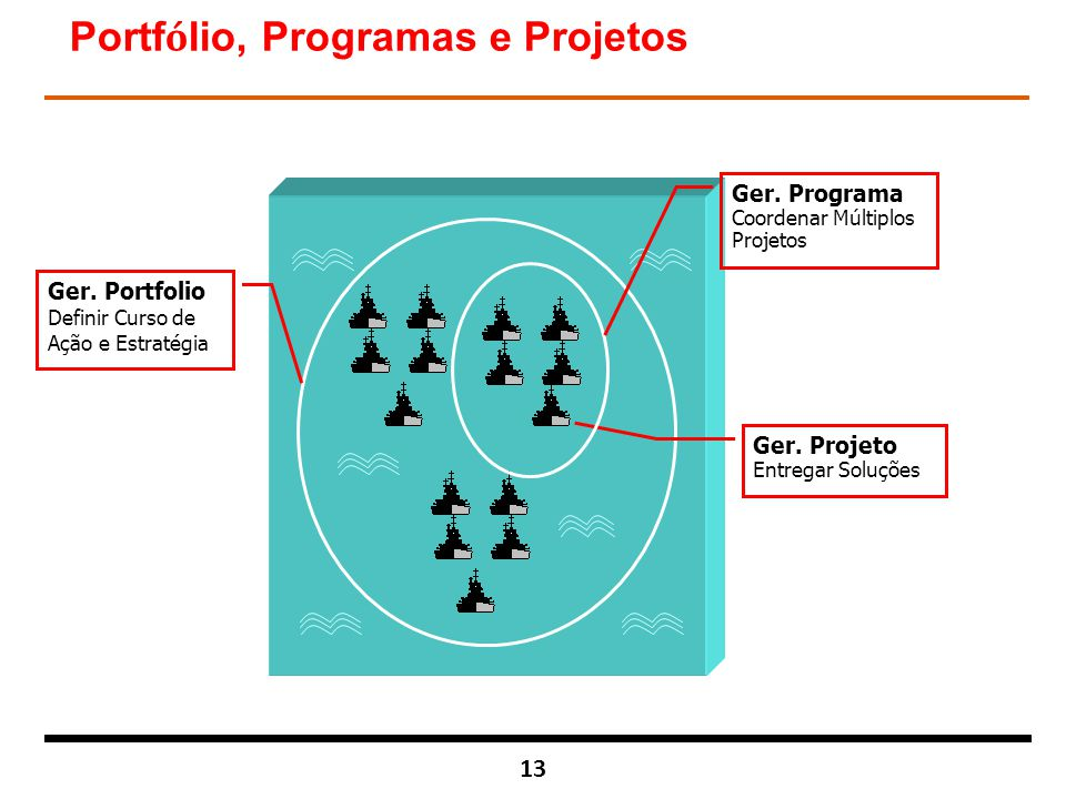 Portfólio, Programas e Projetos