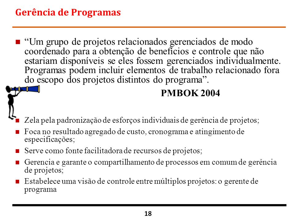 Gerência de Programas