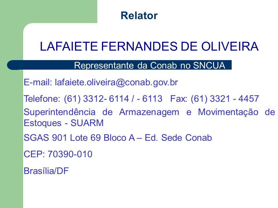 LAFAIETE FERNANDES DE OLIVEIRA