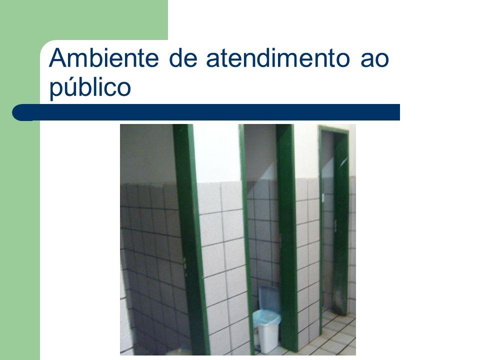 Ambiente de atendimento ao público