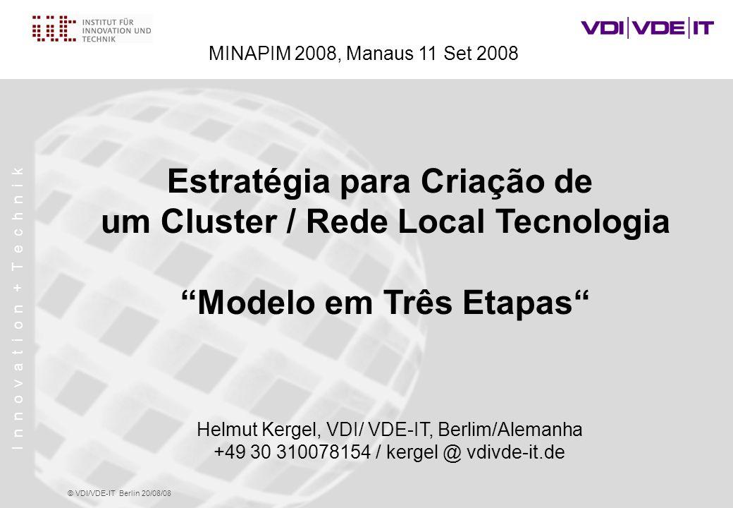 Estratégia para Criação de um Cluster / Rede Local Tecnologia