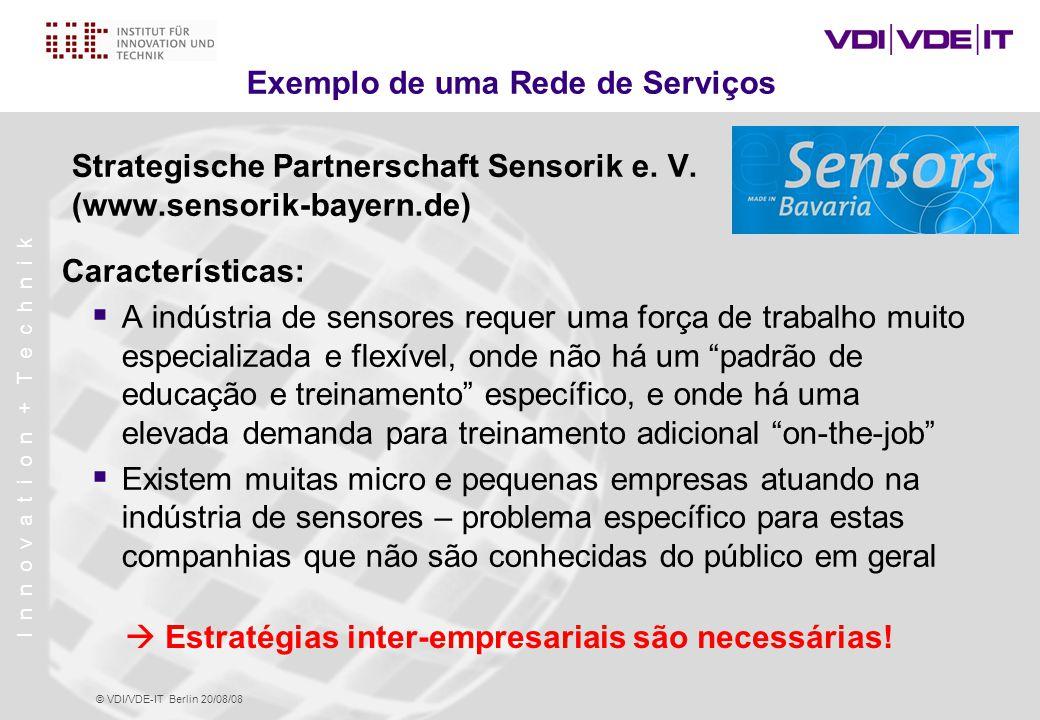 Exemplo de uma Rede de Serviços