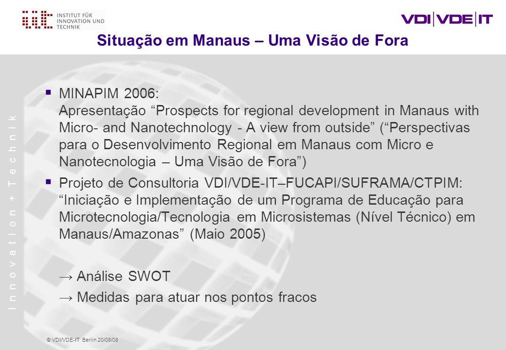 Situação em Manaus – Uma Visão de Fora