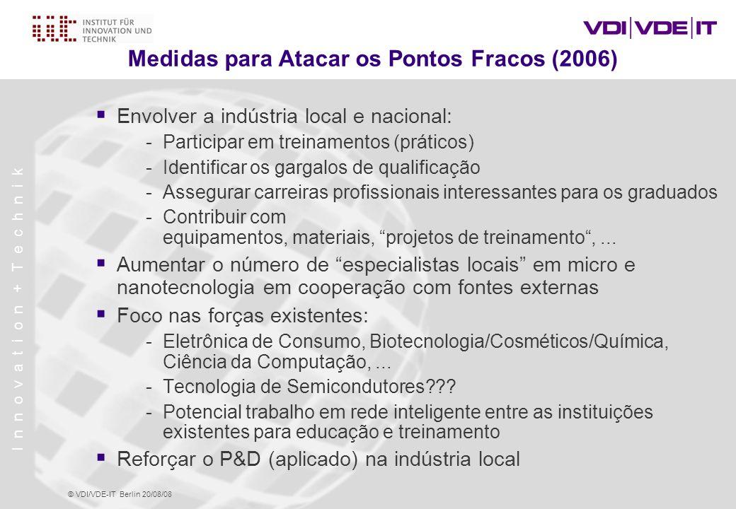 Medidas para Atacar os Pontos Fracos (2006)