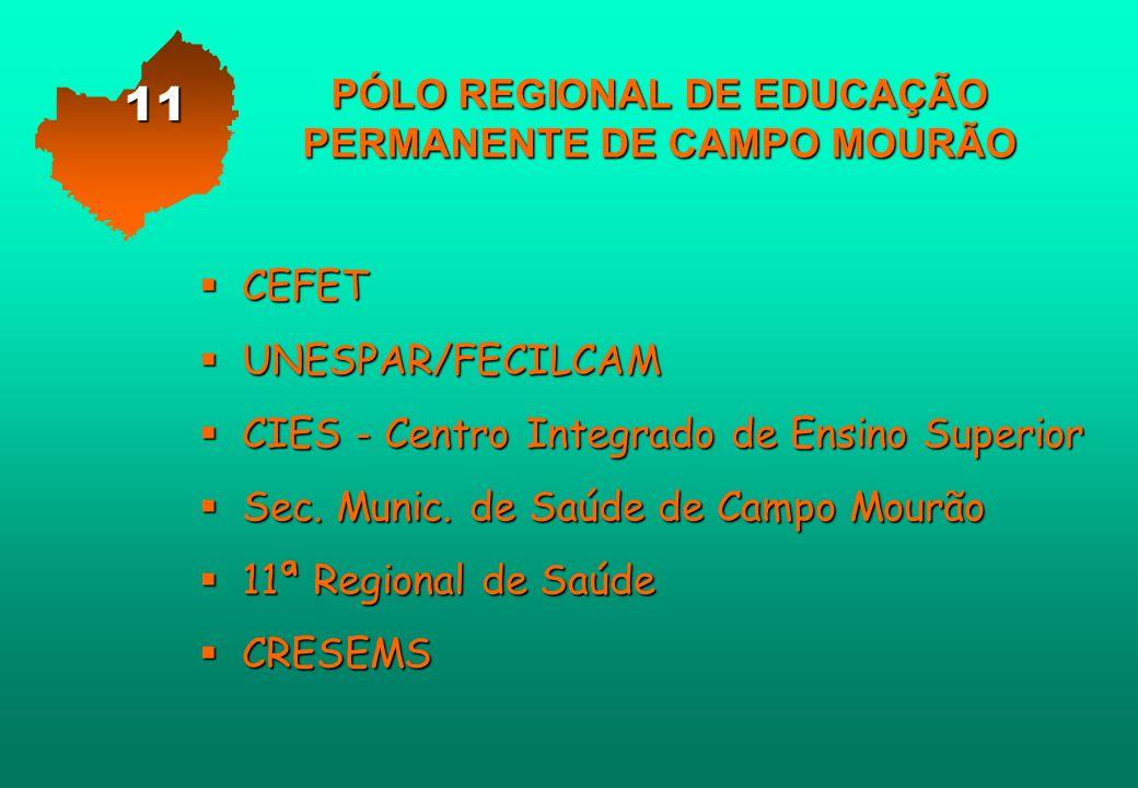 PÓLO REGIONAL DE EDUCAÇÃO PERMANENTE DE CAMPO MOURÃO