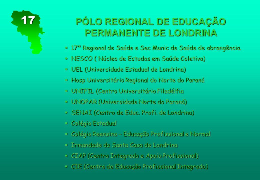 PÓLO REGIONAL DE EDUCAÇÃO PERMANENTE DE LONDRINA