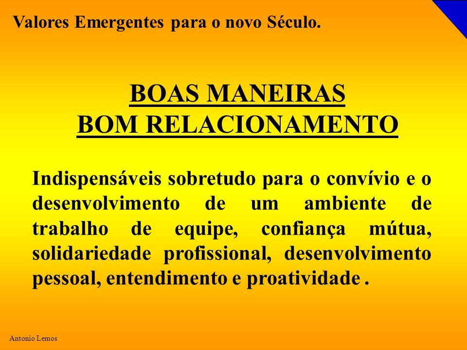 BOAS MANEIRAS BOM RELACIONAMENTO