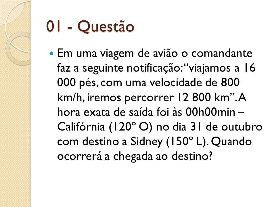 01 - Questão
