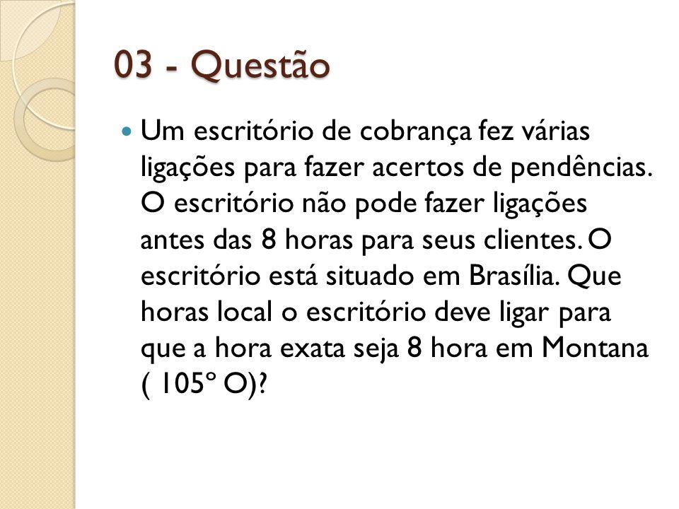 03 - Questão
