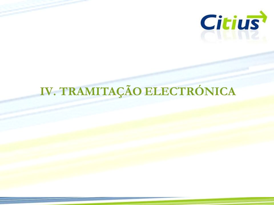 TRAMITAÇÃO ELECTRÓNICA