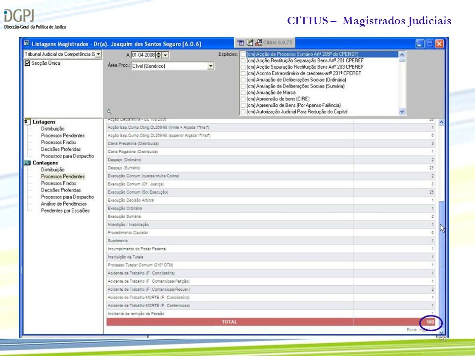 CITIUS – Magistrados Judiciais