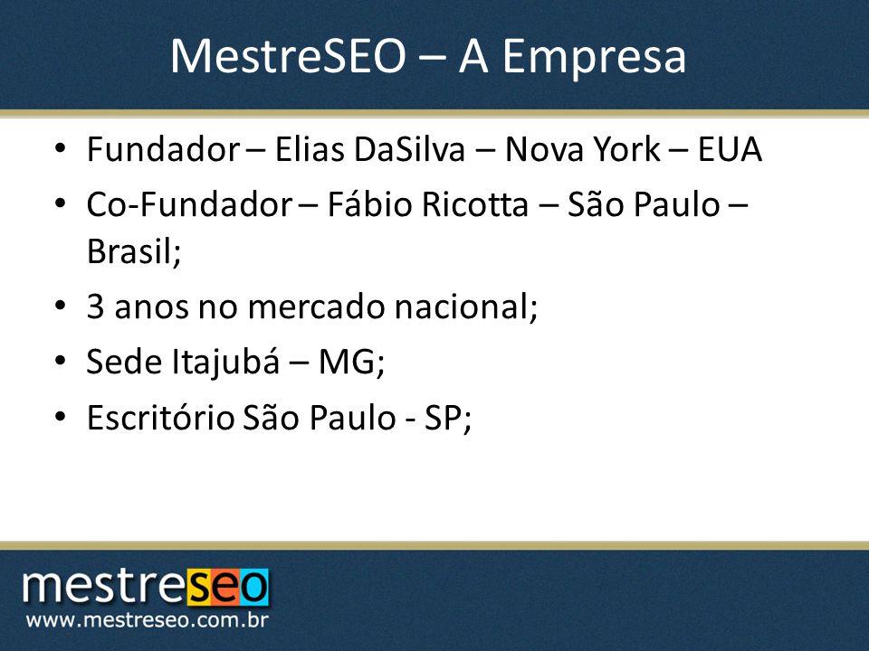 MestreSEO – A Empresa Fundador – Elias DaSilva – Nova York – EUA