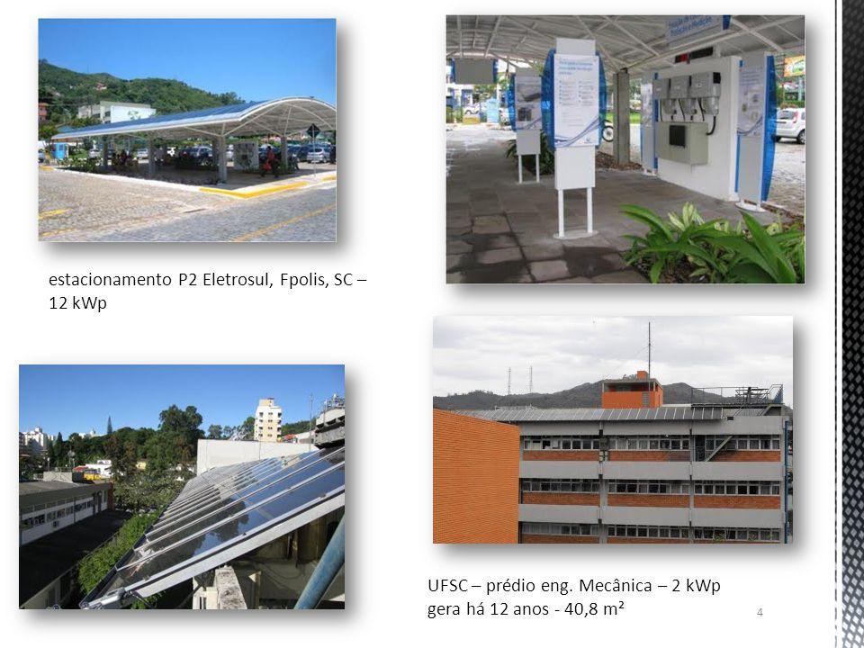 estacionamento P2 Eletrosul, Fpolis, SC – 12 kWp