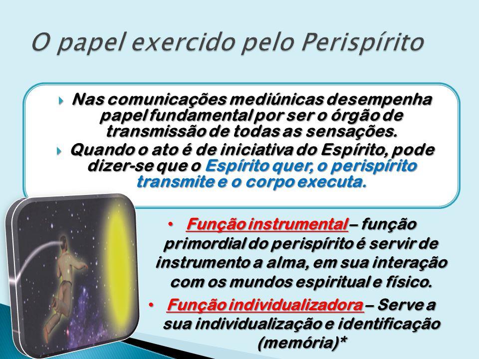 O papel exercido pelo Perispírito