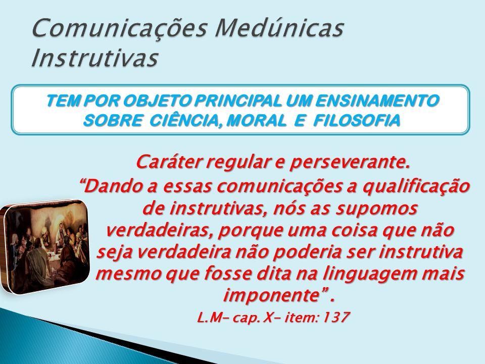 Comunicações Medúnicas Instrutivas