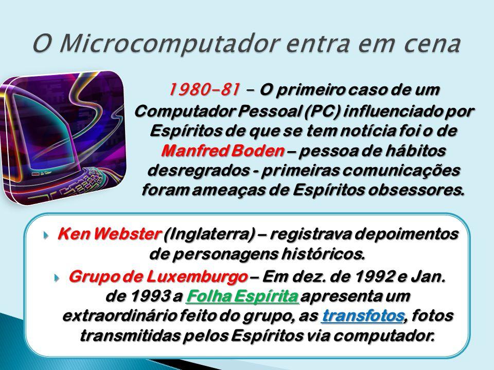 O Microcomputador entra em cena