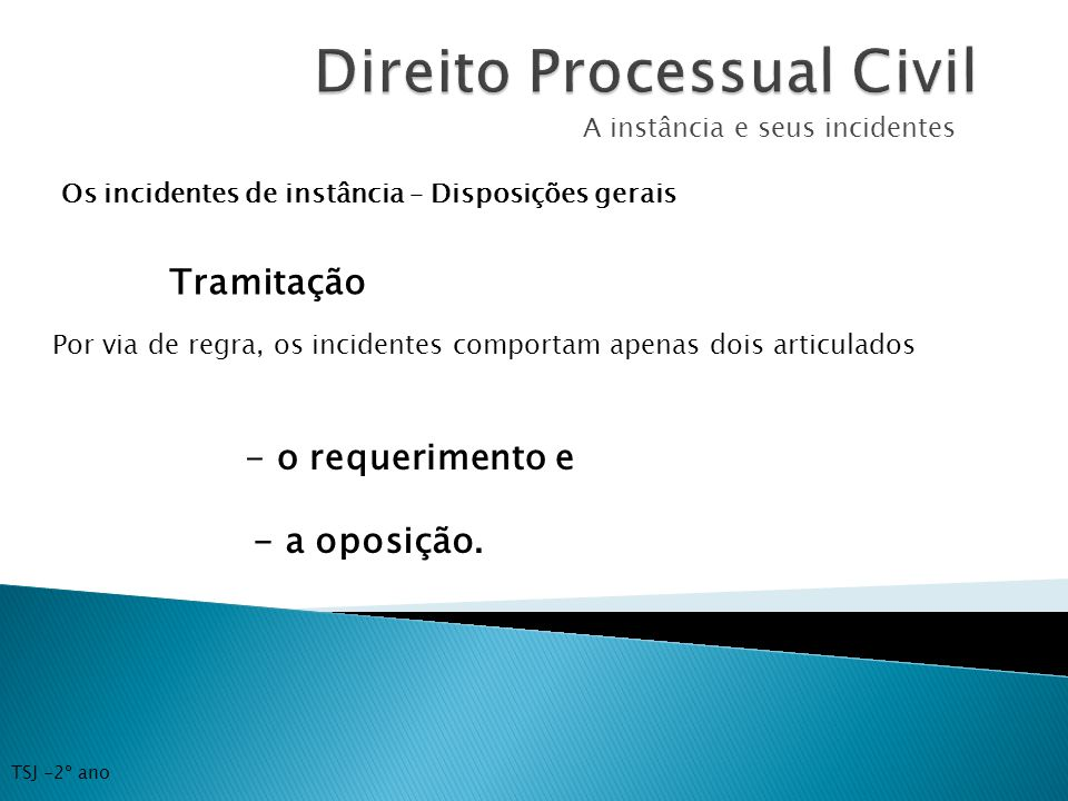Incidentes processuais de competencia originaria dos tribunais 8