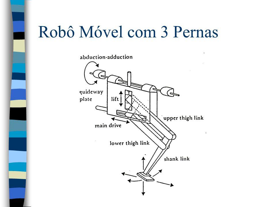 Robô Móvel com 3 Pernas