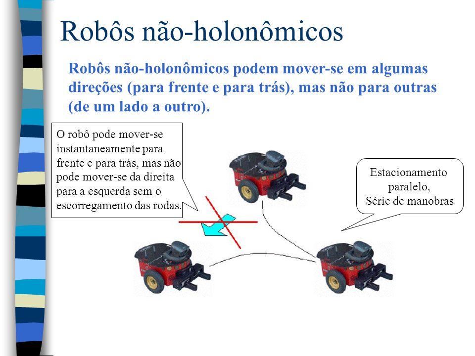Robôs não-holonômicos