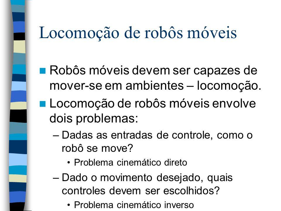 Locomoção de robôs móveis