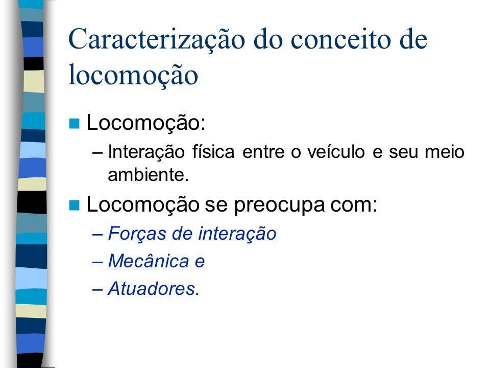 Caracterização do conceito de locomoção