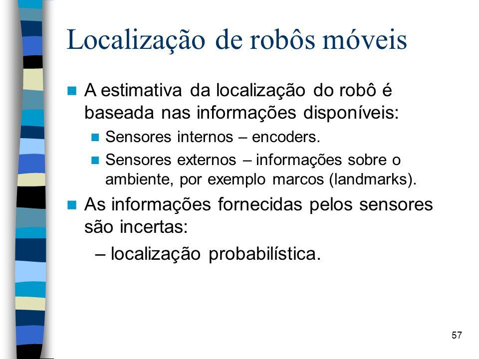 Localização de robôs móveis