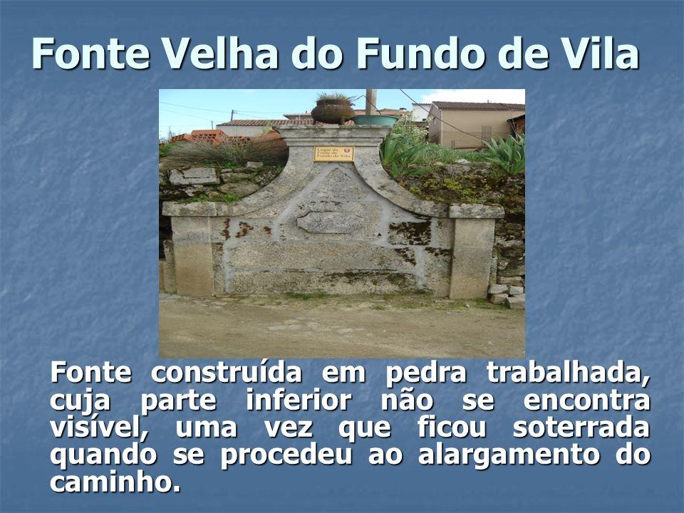 Fonte Velha do Fundo de Vila