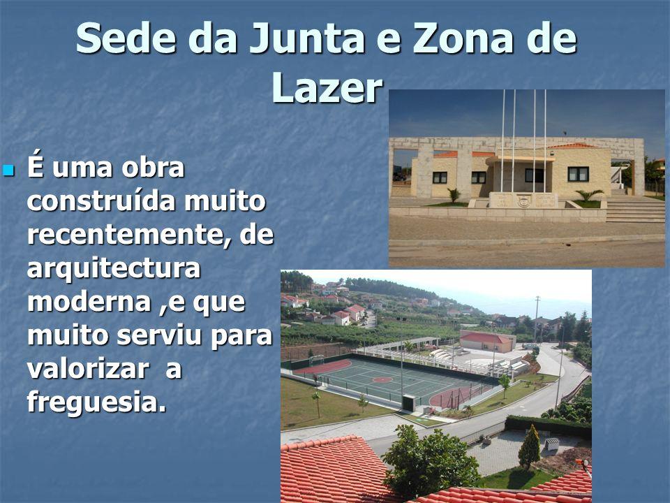 Sede da Junta e Zona de Lazer