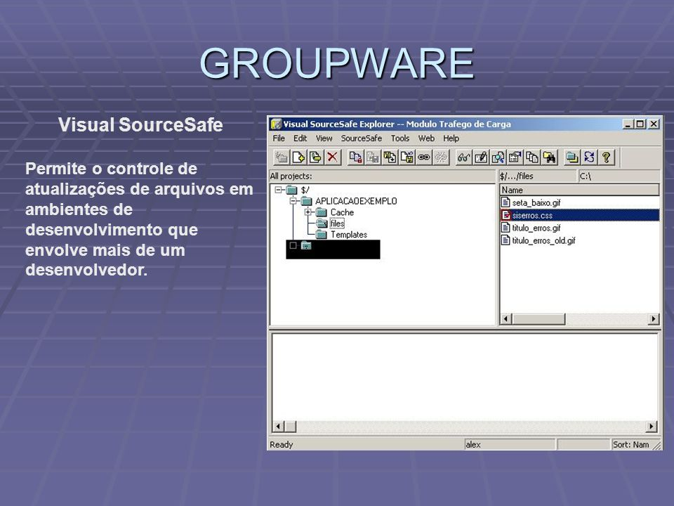 GROUPWARE Visual SourceSafe