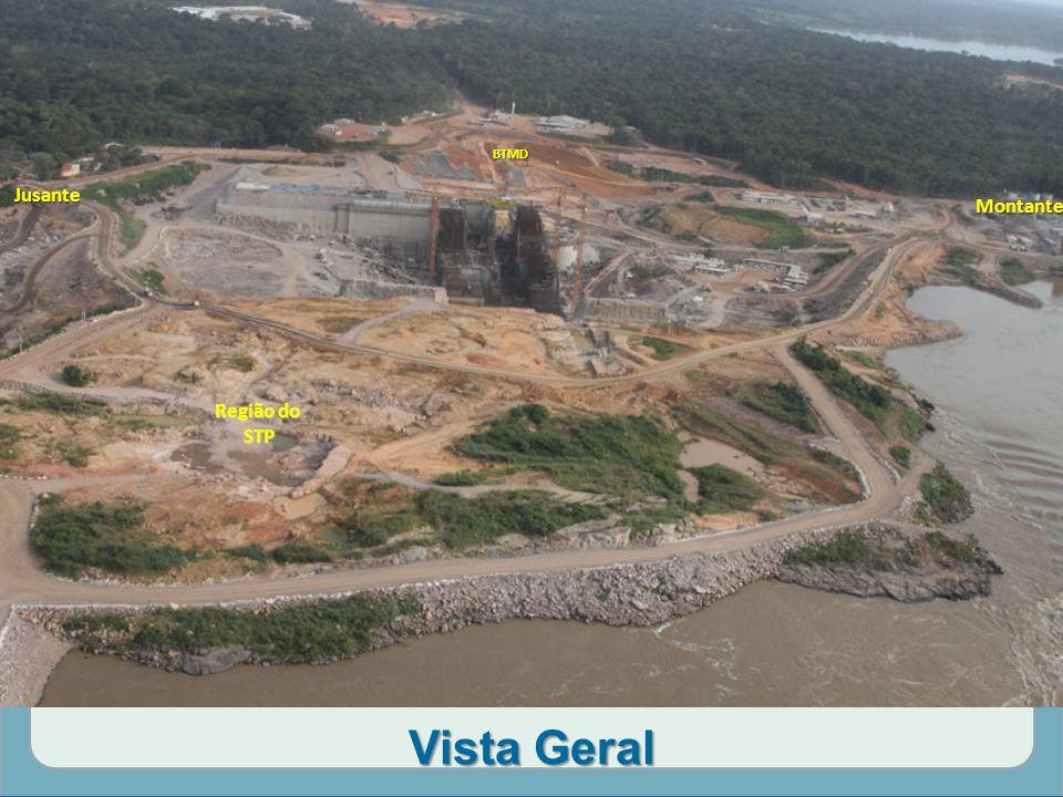 BTMD Jusante Montante Região do STP Vista Geral
