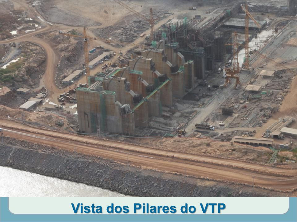 Vista dos Pilares do VTP
