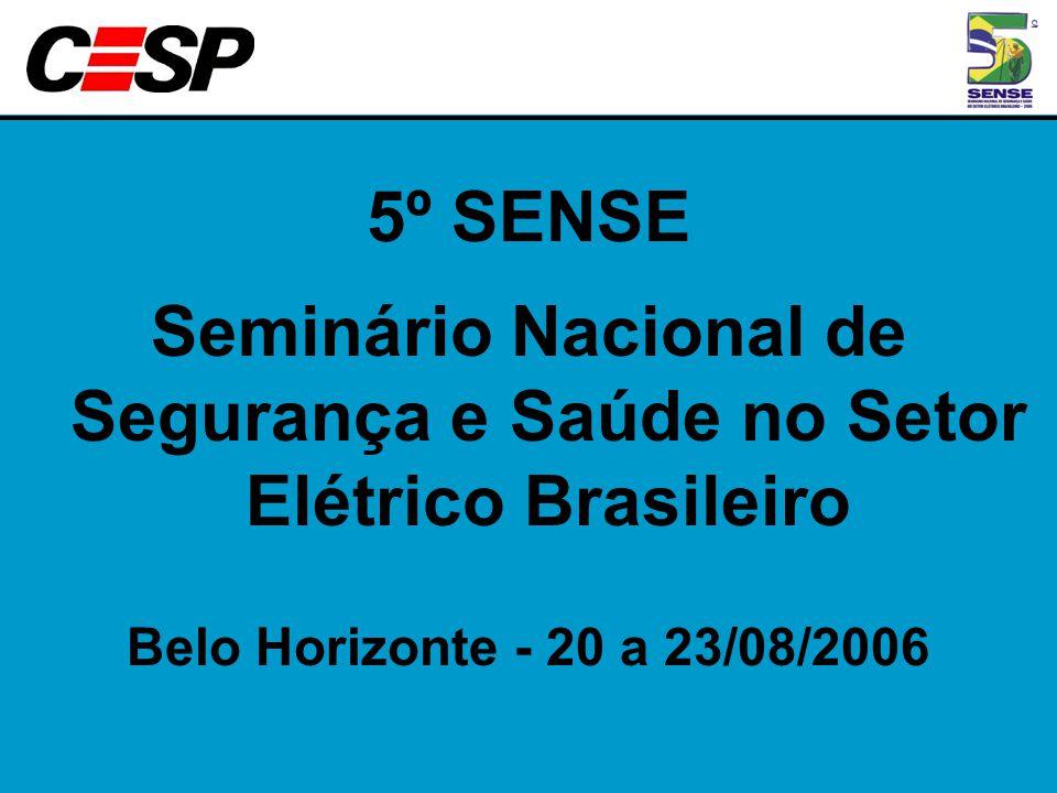 Seminário Nacional de Segurança e Saúde no Setor Elétrico Brasileiro
