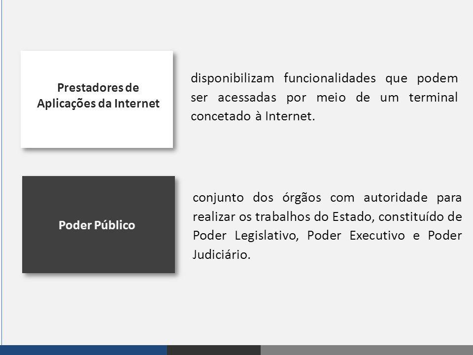 Prestadores de Aplicações da Internet
