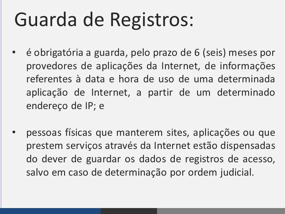Guarda de Registros: