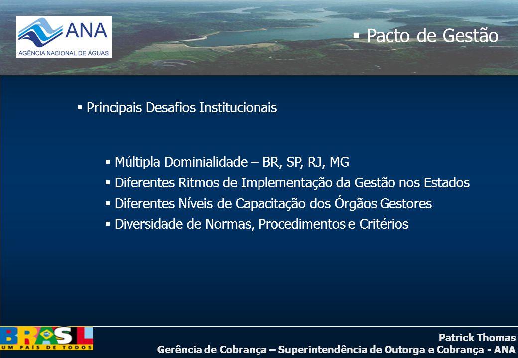 Principais Desafios Institucionais