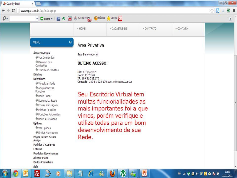 Seu Escritório Virtual tem