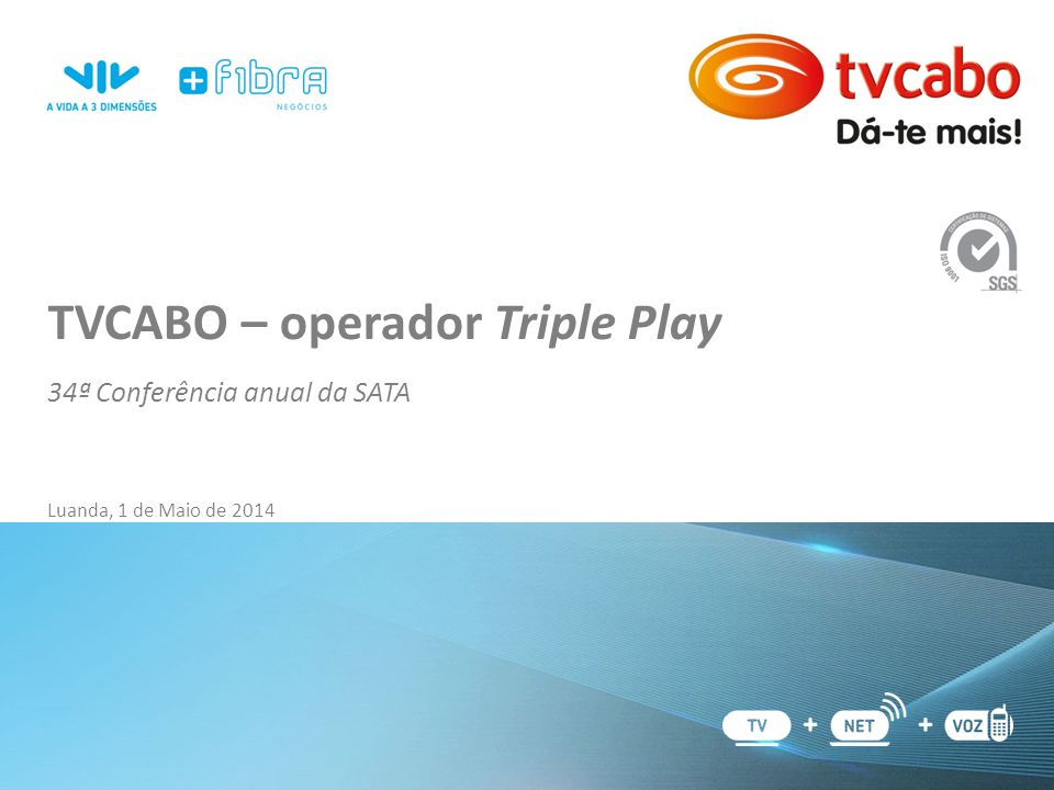 TVCABO – operador Triple Play