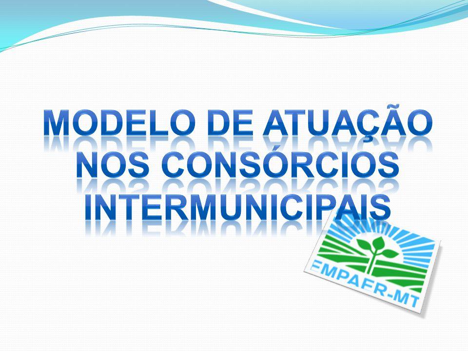 MODELO DE ATUAÇÃO NOS CONSÓRCIOS INTERMUNICIPAIS