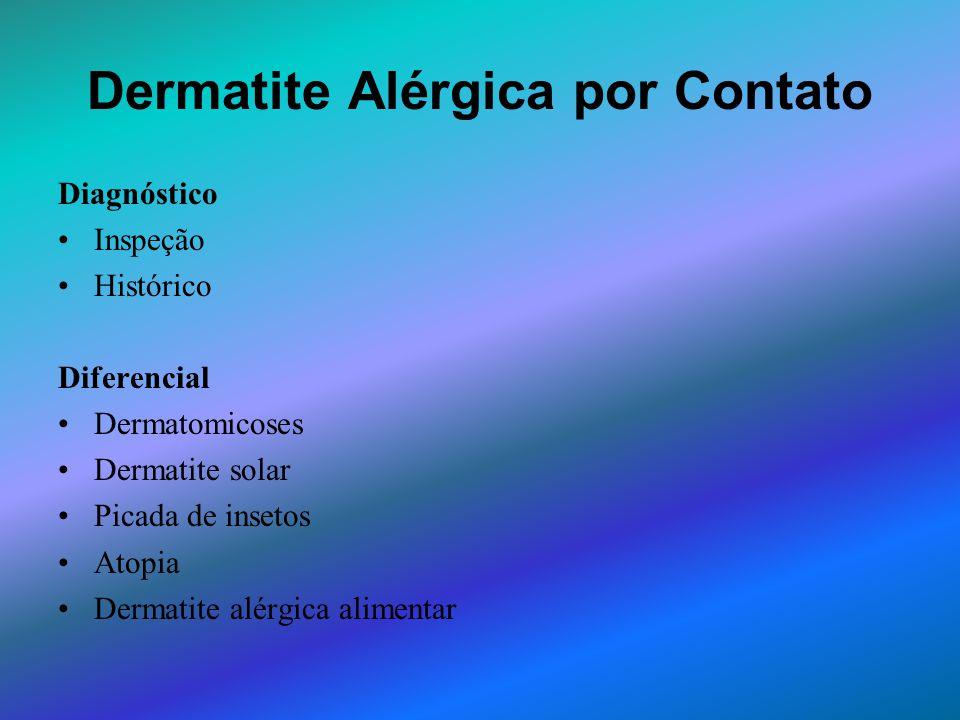 Dermatite Alérgica por Contato