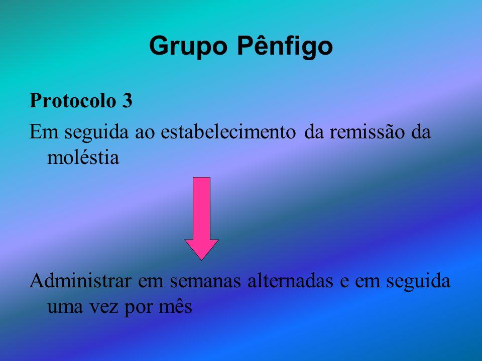 Grupo Pênfigo Protocolo 3