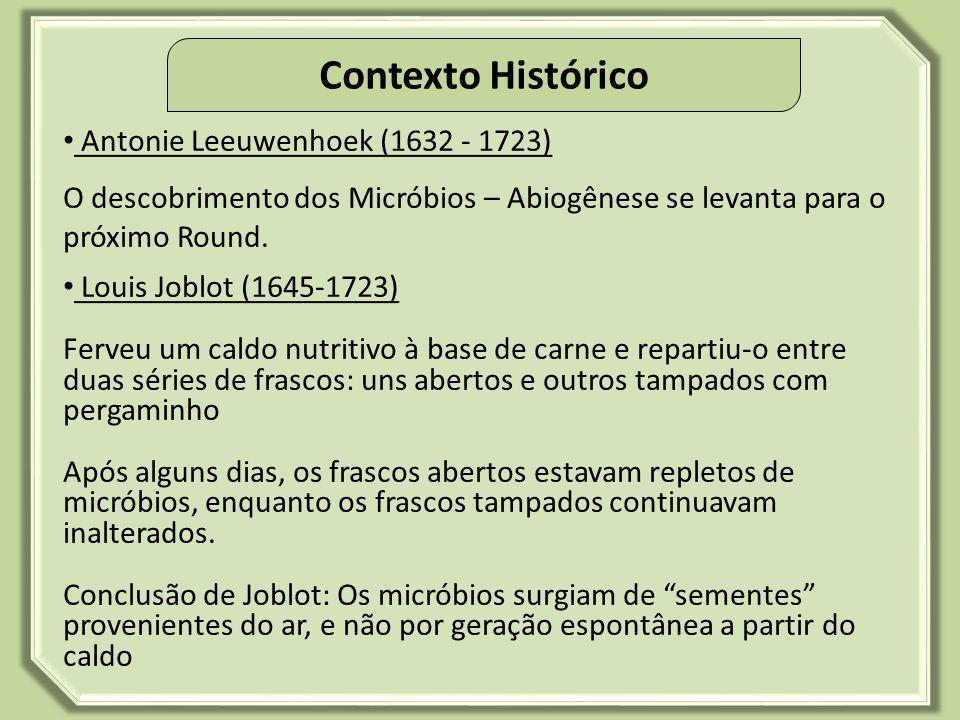 Contexto Histórico Antonie Leeuwenhoek (1632 - 1723)