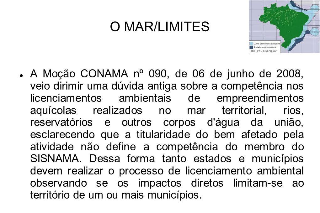 O MAR/LIMITES