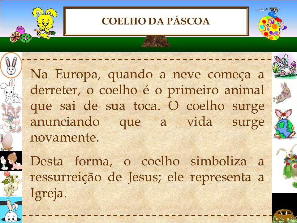 COELHO DA PÁSCOA