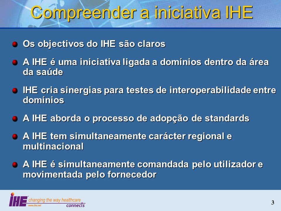 Compreender a iniciativa IHE