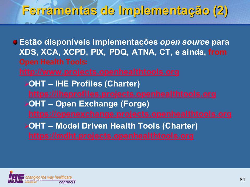 Ferramentas de Implementação (2)