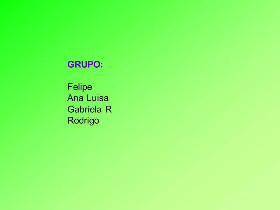 GRUPO: Felipe Ana Luisa Gabriela R Rodrigo