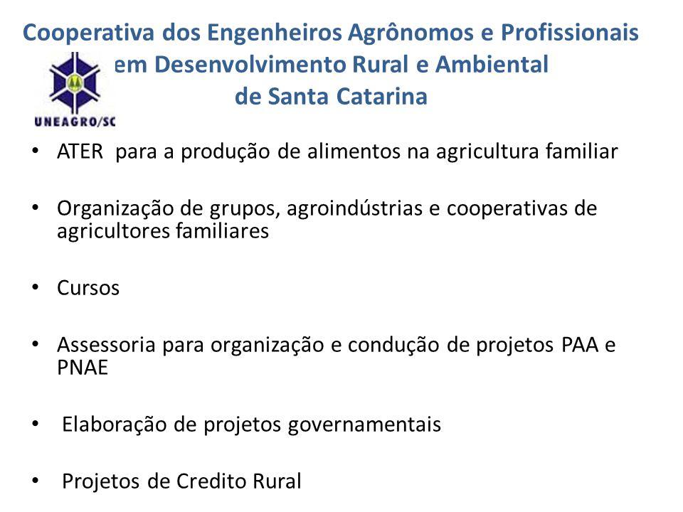 Cooperativa dos Engenheiros Agrônomos e Profissionais em Desenvolvimento Rural e Ambiental de Santa Catarina