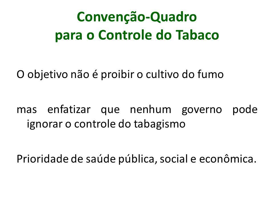 Convenção-Quadro para o Controle do Tabaco