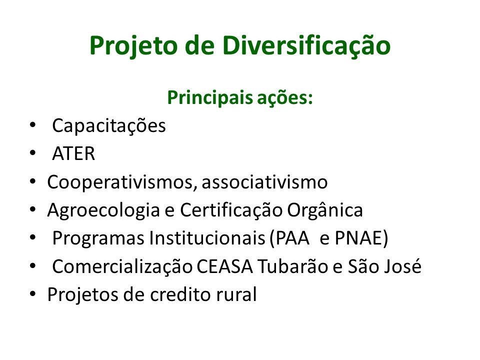 Projeto de Diversificação