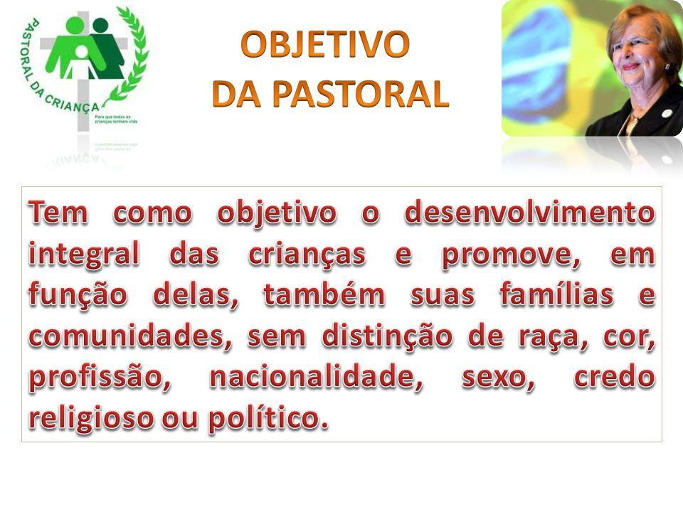 OBJETIVO DA PASTORAL.